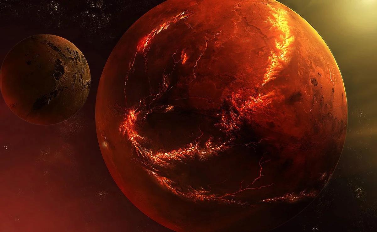 Ученые нашли доказательства наличия воды на Марсе