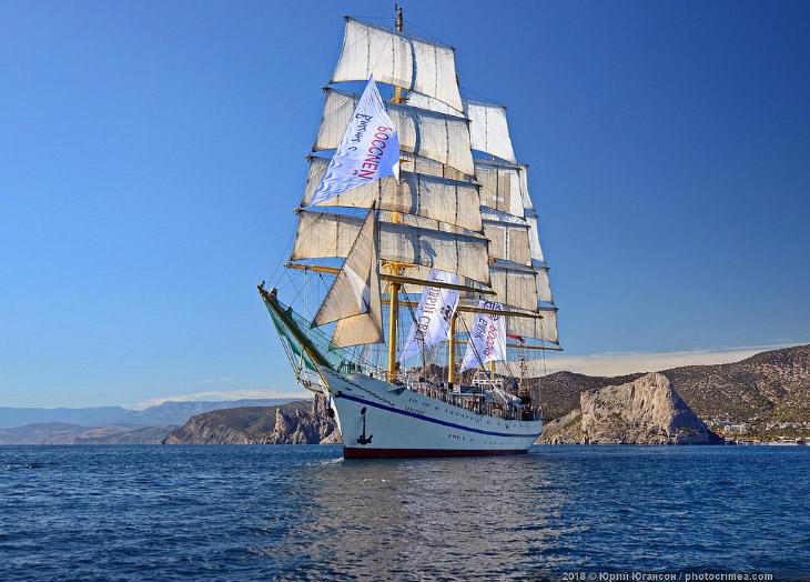 Парусник «Херсонес» «переоденут» в алые паруса за 23 млн рублей