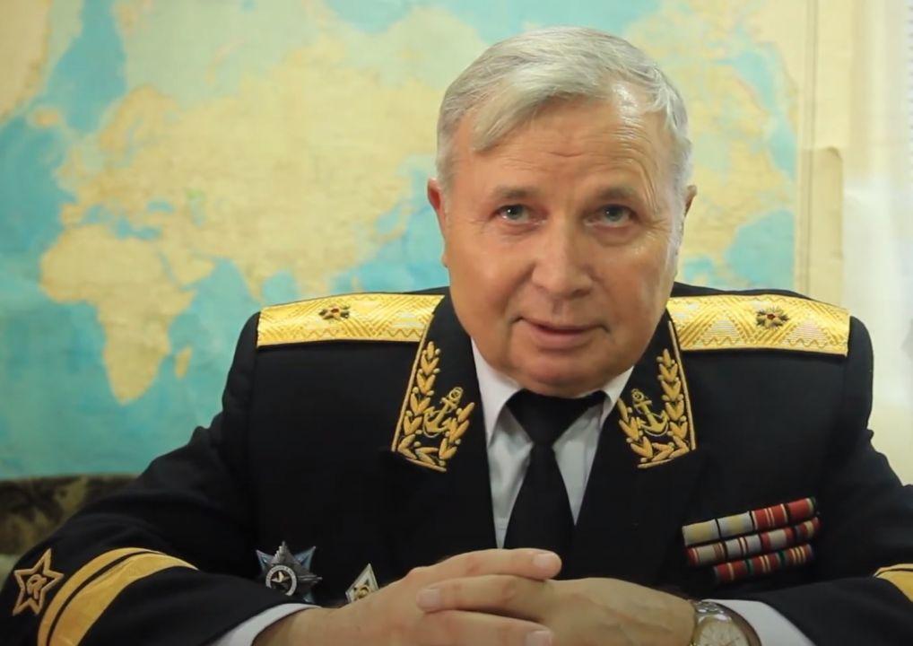В Севастополе скончался контр-адмирал Александр Аладкин
