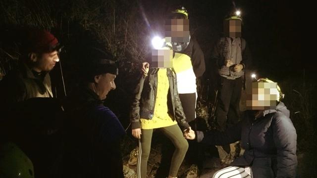В Крыму туристы с детьми заблудились на горе Аю-Даг