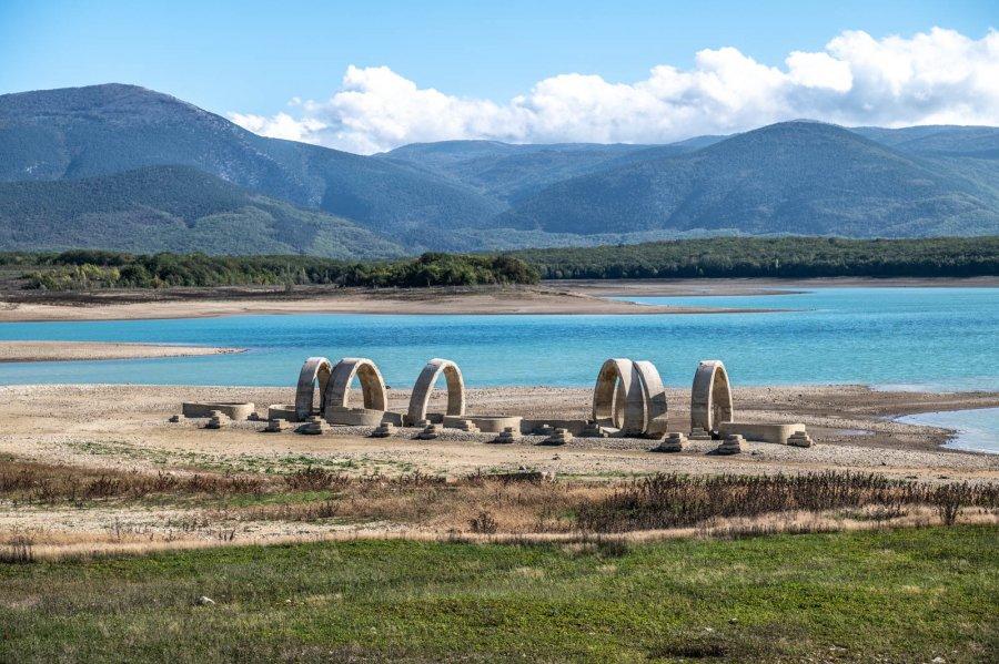 Долгожданный ливень пополнил Чернореченское водохранилище