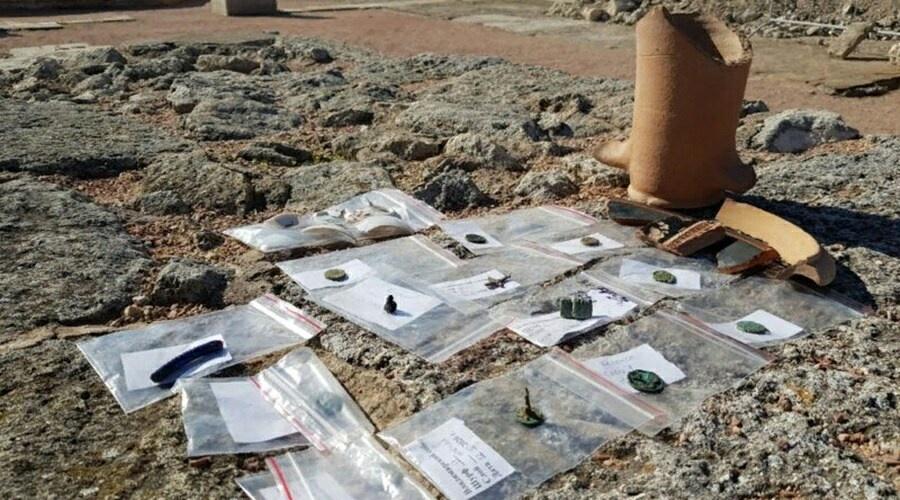Новые артефакты обнаружили на территории Херсонеса