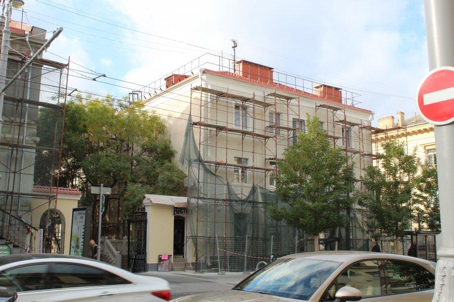 В Севастополе завершается капитальный ремонт домов на Большой Морской