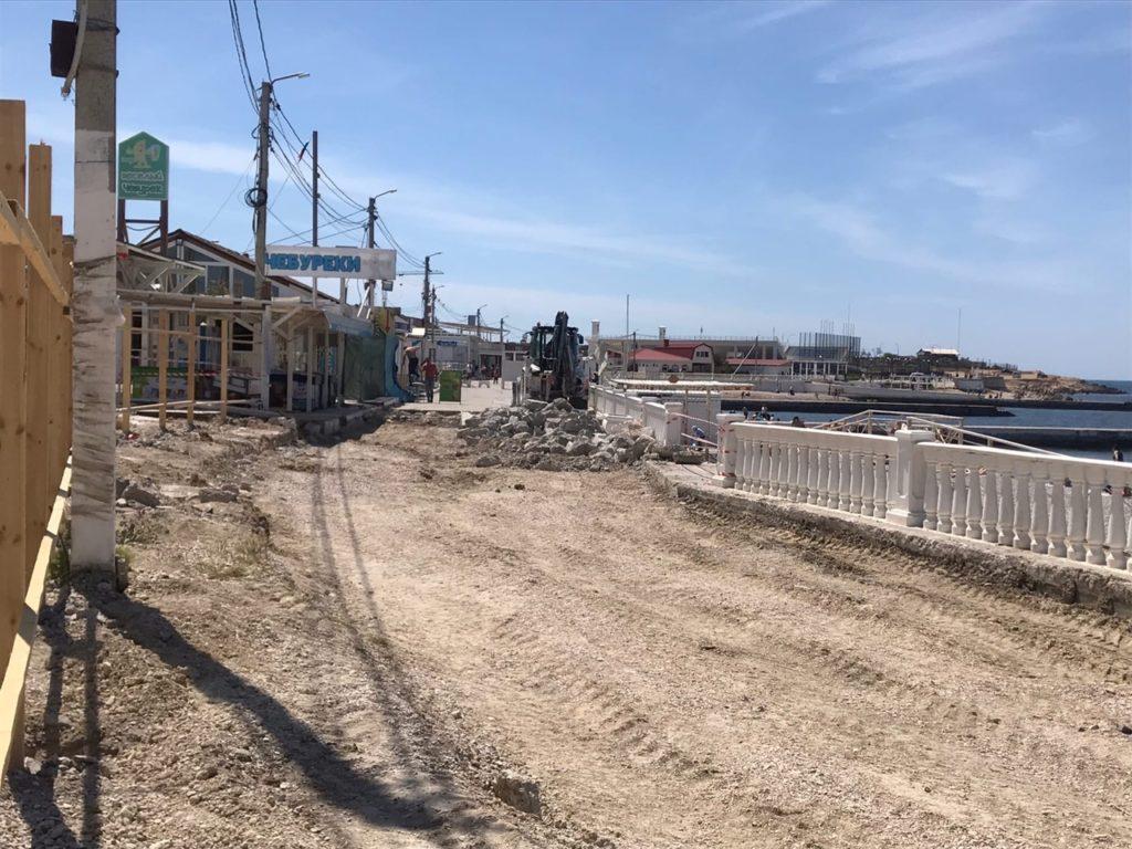 Севастополь может потерять пляж в Парке Победы ещё не на один сезон