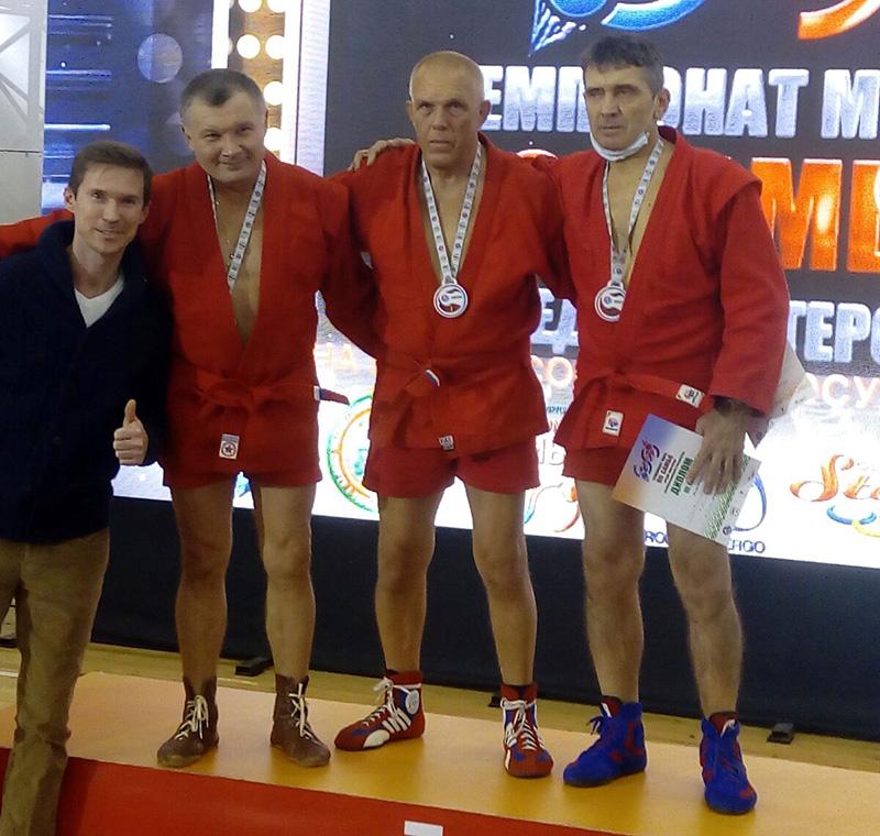 Севастополец выиграл чемпионат мира по самбо среди ветеранов