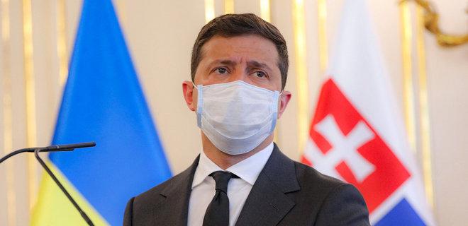 Владимира Зеленского госпитализировали с коронавирусом