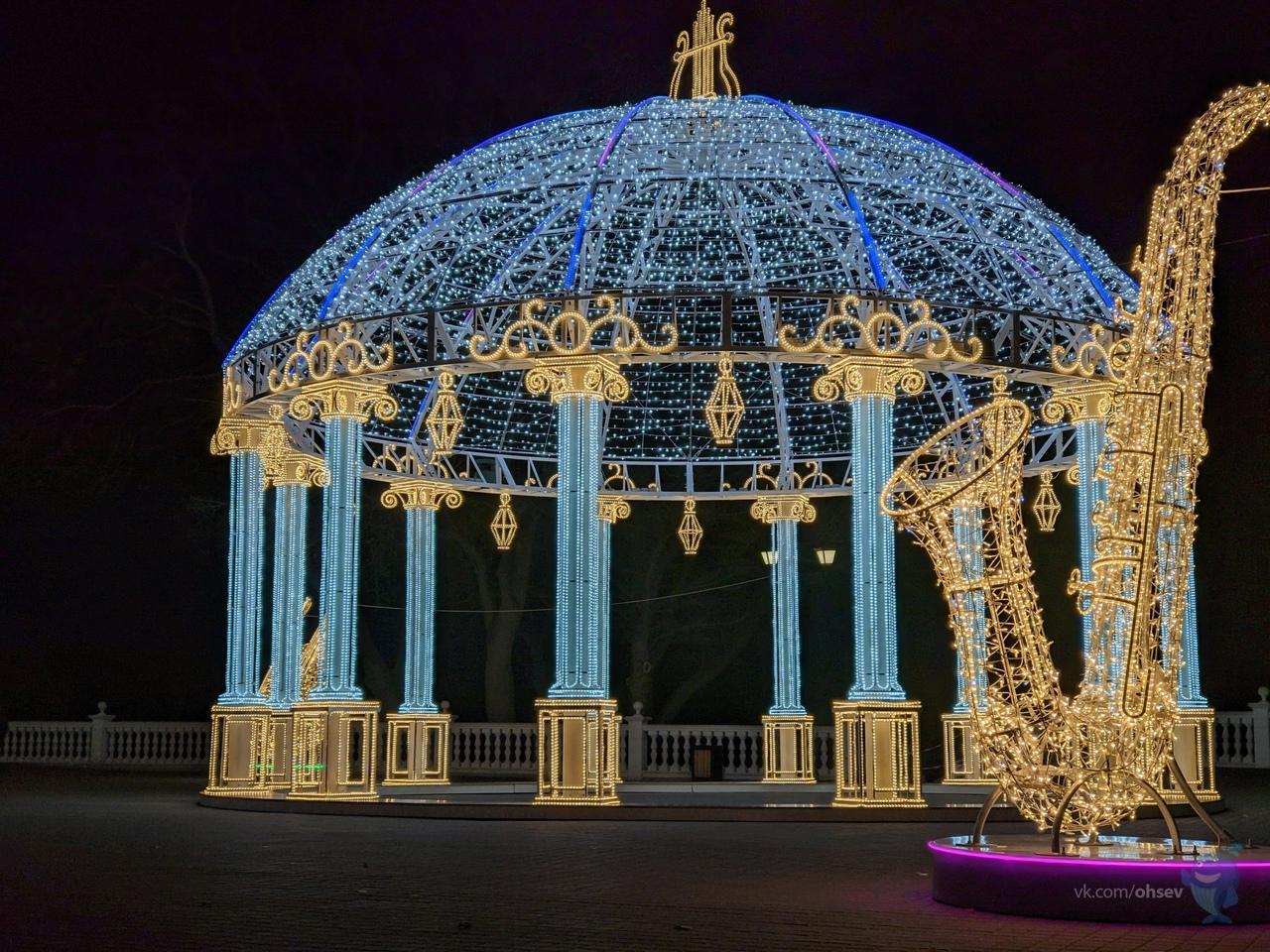 Как украсили Севастополь к Новому году (фото)