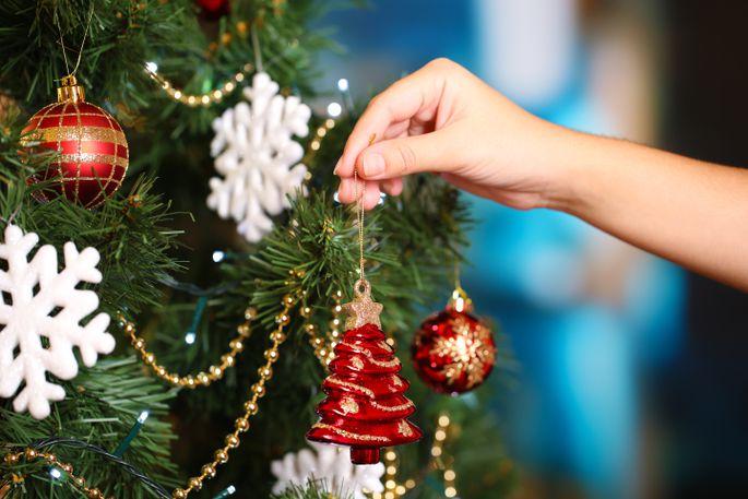 Как украсить новогоднюю ёлку в год Быка