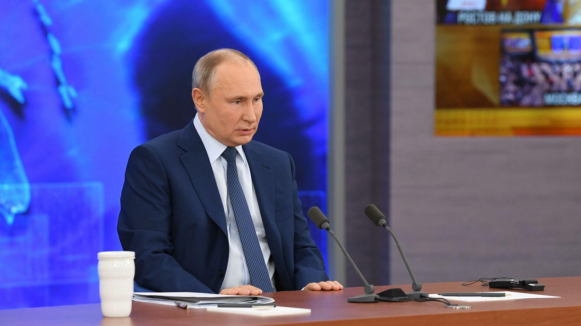 Путин ответил на вопрос об участии в выборах в 2024 году