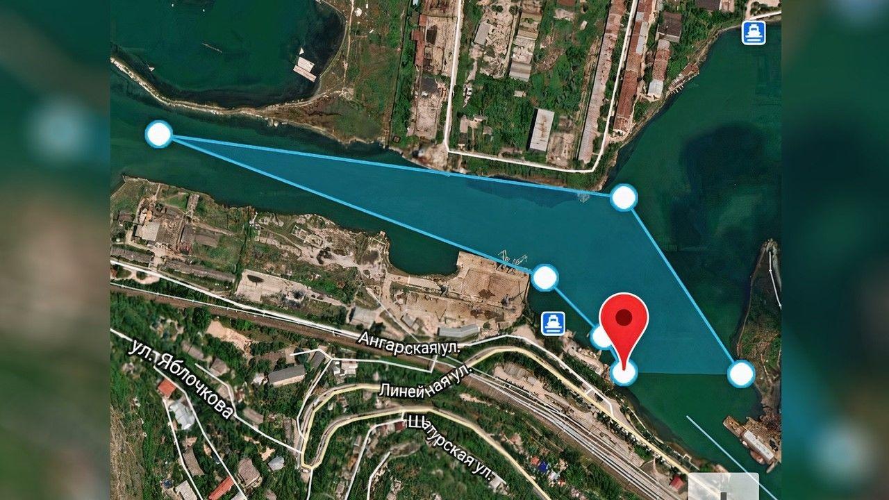 В Черном море обнаружили огромное нефтяное пятно