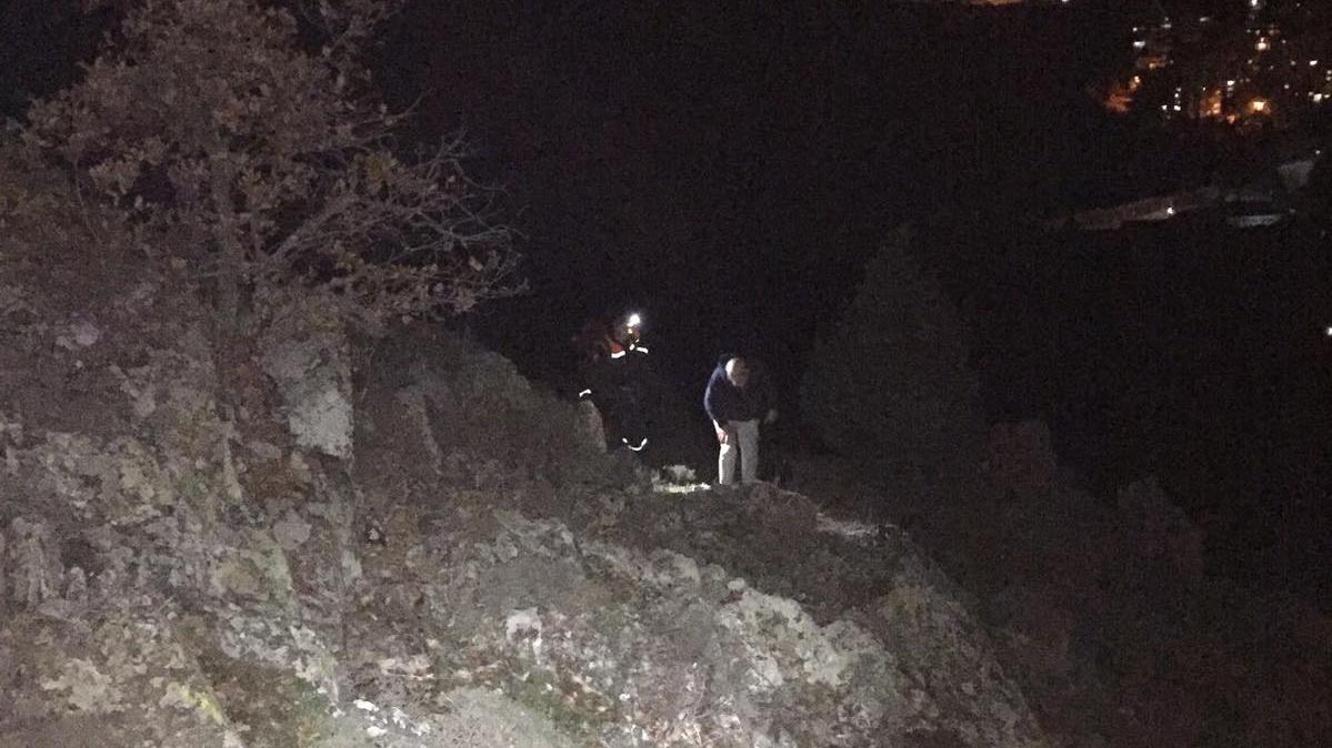 В Крыму на горе Аю-Даг заблудился турист