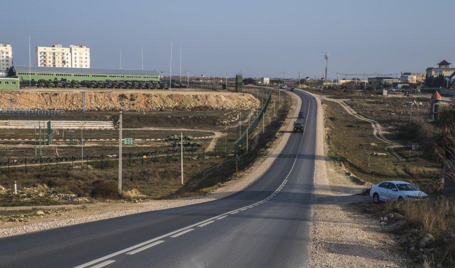 В Севастополе отремонтировали четыре километра дороги в Казачьей бухте