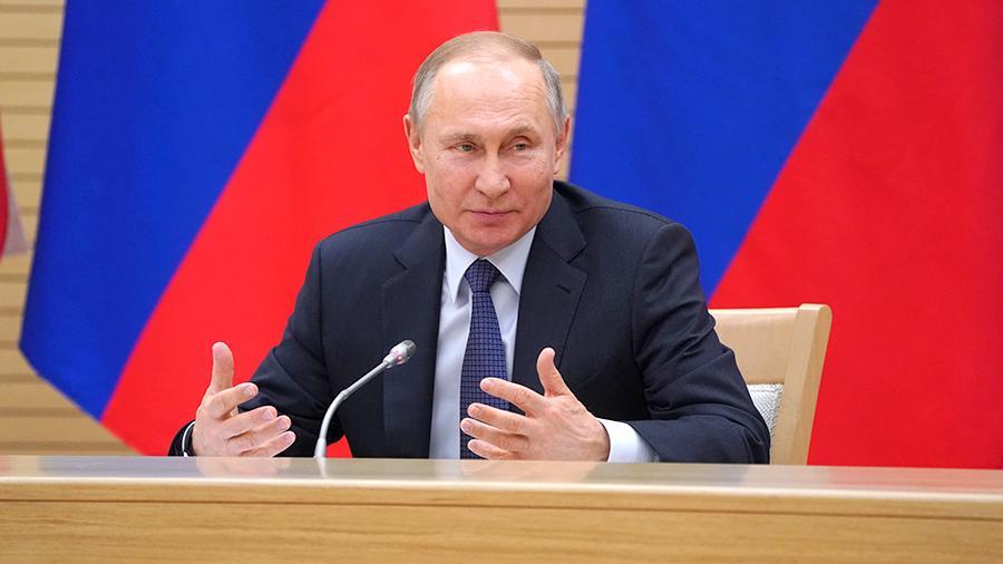 Путин назвал главную проблему года