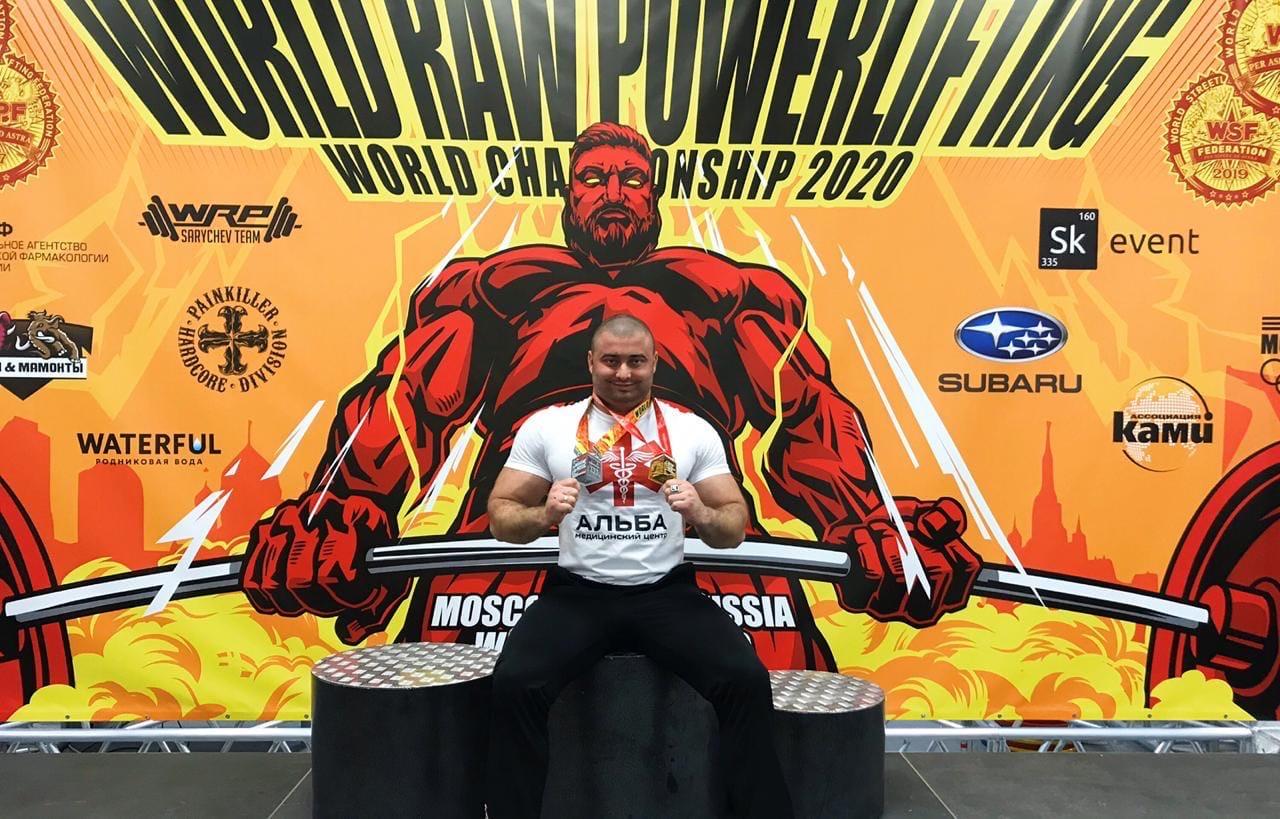 Севастополец стал чемпионом мира по жиму штанги лёжа