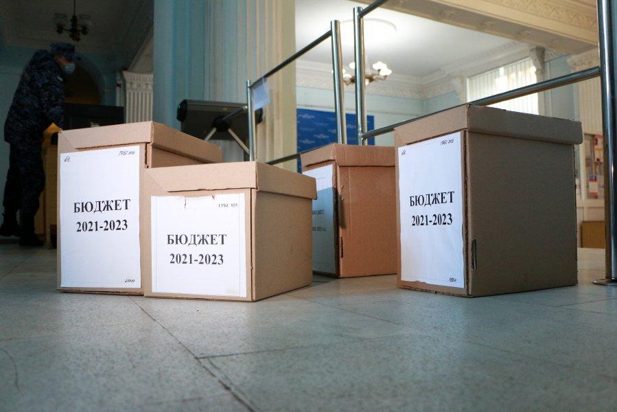 Проект трехлетнего бюджета Севастополя внесен в Законодательное Собрание