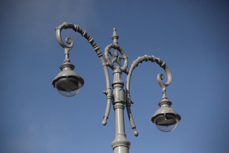 В севастопольских селах установили наружное освещение