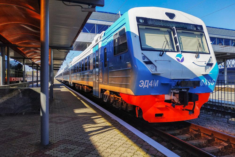 Пригородных поездов в Крыму станет больше