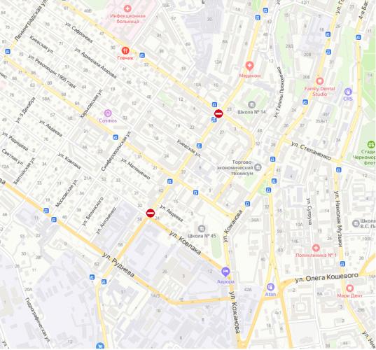 В Севастополе снова ограничат движение из-за ремонта улицы Льва Толстого