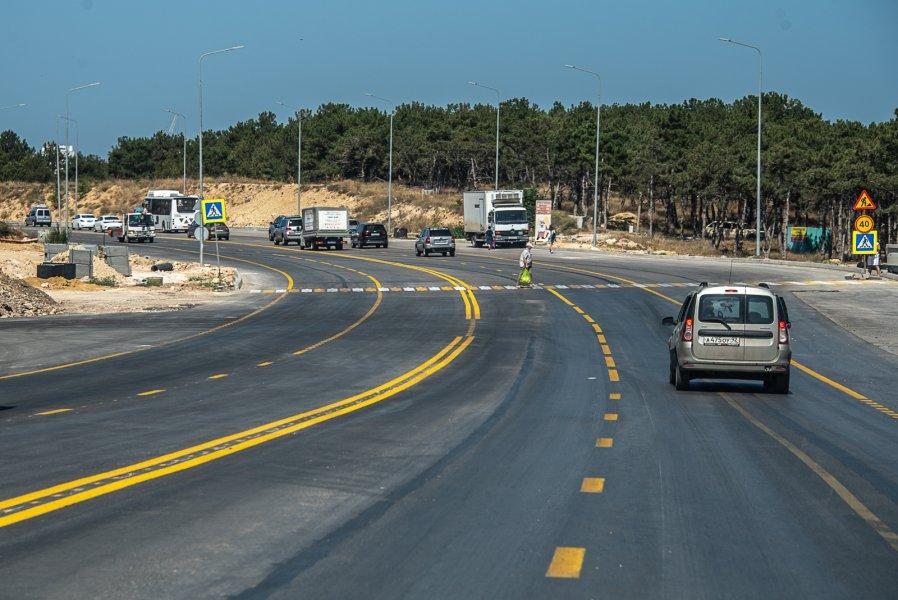 Когда запустят четырехполосное движение на Камышовом шоссе в Севастополе