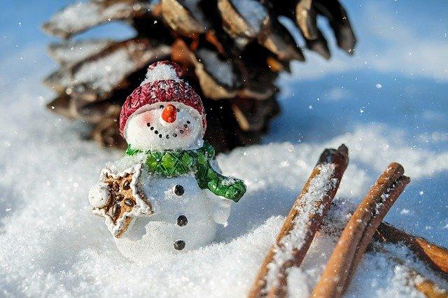 Крымские снеговики соблюдают масочный режим