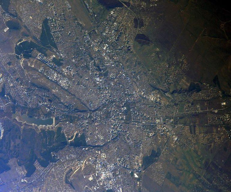 Российский космонавт показал Симферополь из иллюминатора МКС