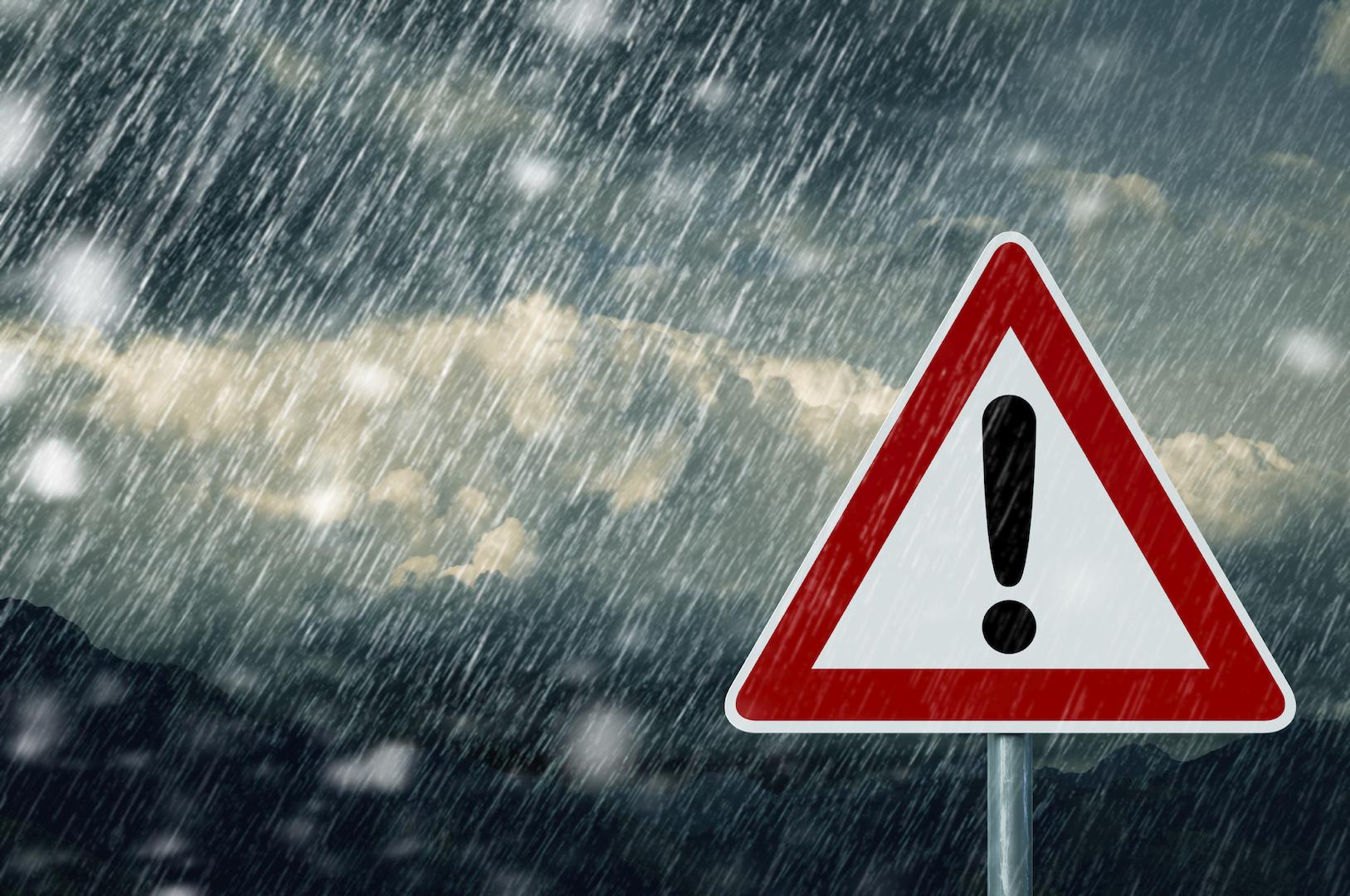 9 января в Крыму объявлено штормовое предупреждение