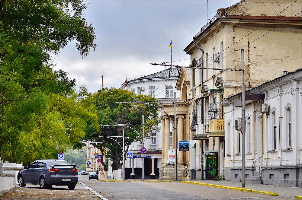 Севастопольские улицы очистят от песка