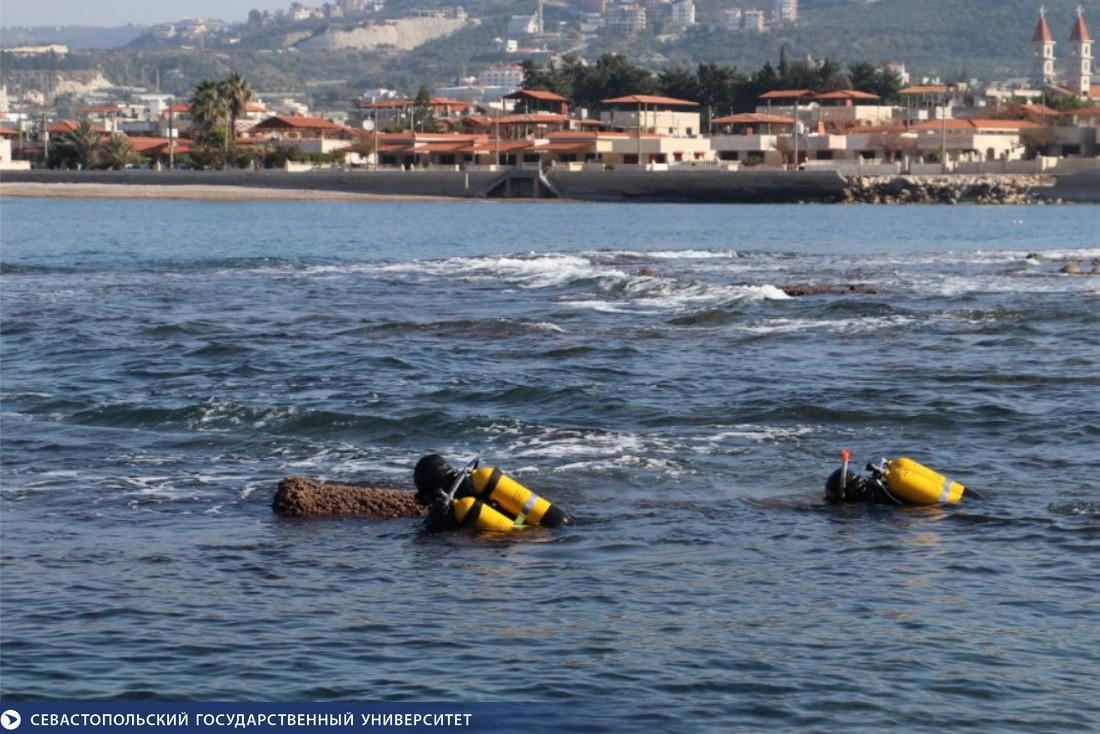 Ученые Севастополя обнаружили руины древнеримского порта в Сирии (фото)