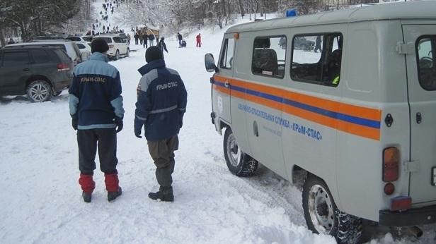 Зимние развлечения крымчан на выходных проконтролируют спасатели