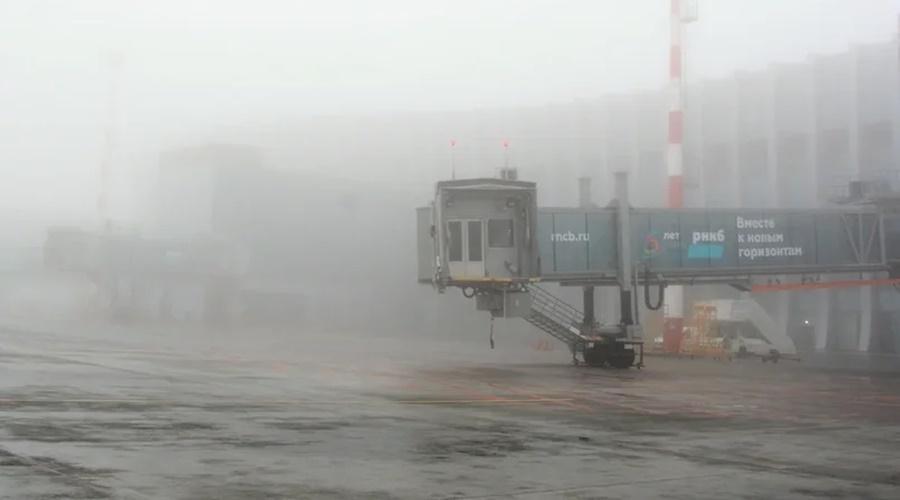В аэропорту Симферополя задерживаются рейсы из-за тумана