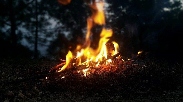 Во время запуска фейерверков в Сочи загорелся лес
