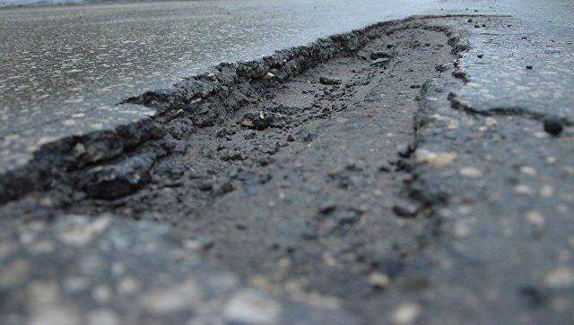 Названы районы Крыма с самыми плохими дорогами