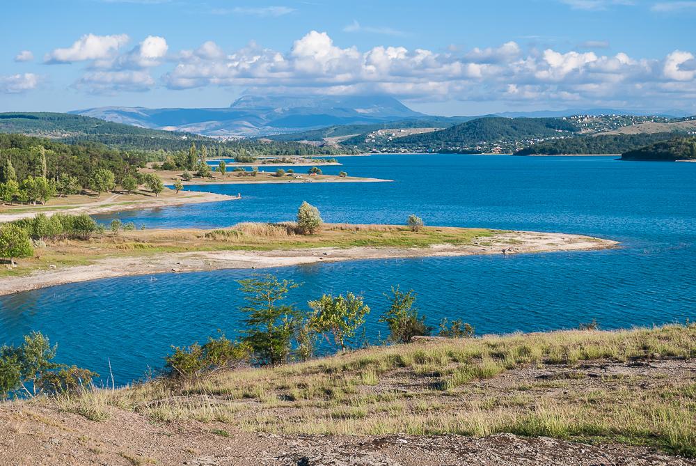 Симферопольское водохранилище начинает наполняться водой