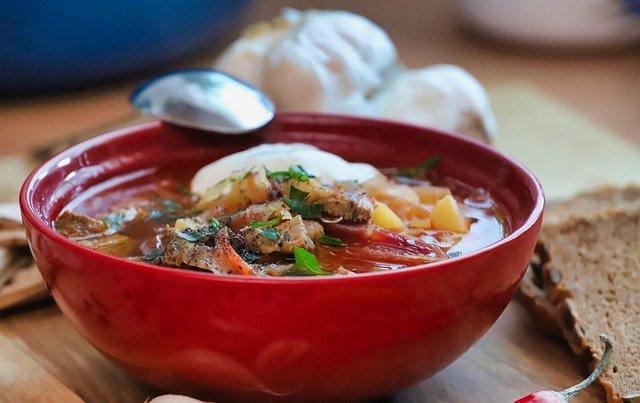 В рейтинг лучших супов мира вошел борщ
