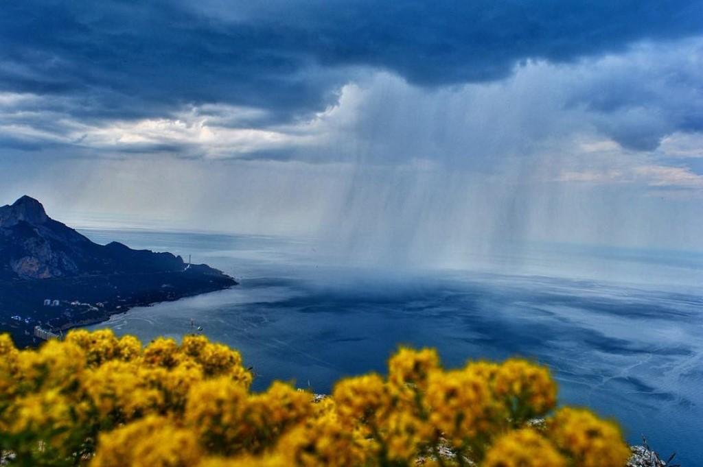 В Крыму в пятницу пройдут дожди