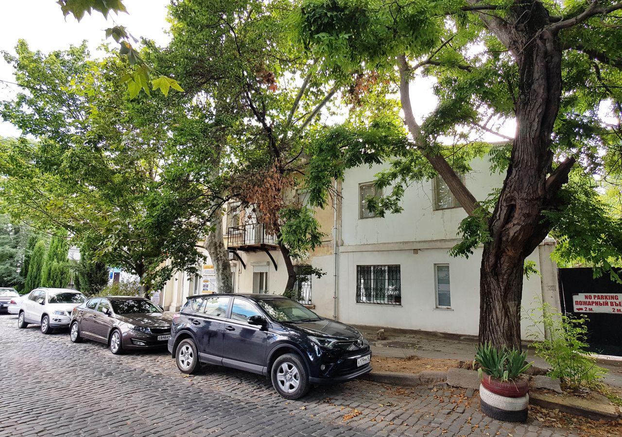 В Севастополе на улице Суворова посадят новые деревья