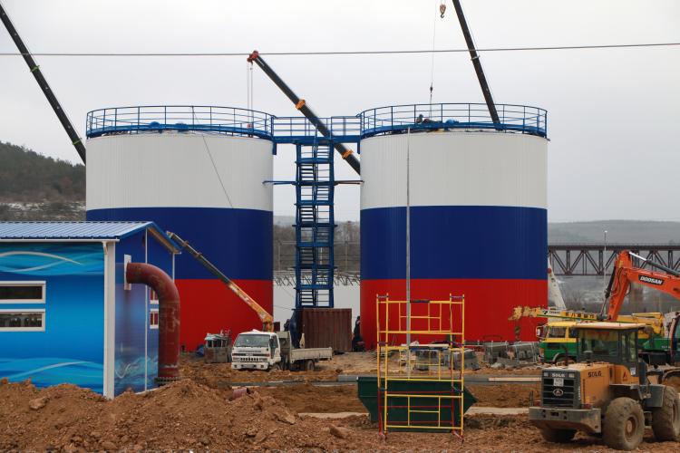 На реке Бельбек к марту завершат первый комплекс работ