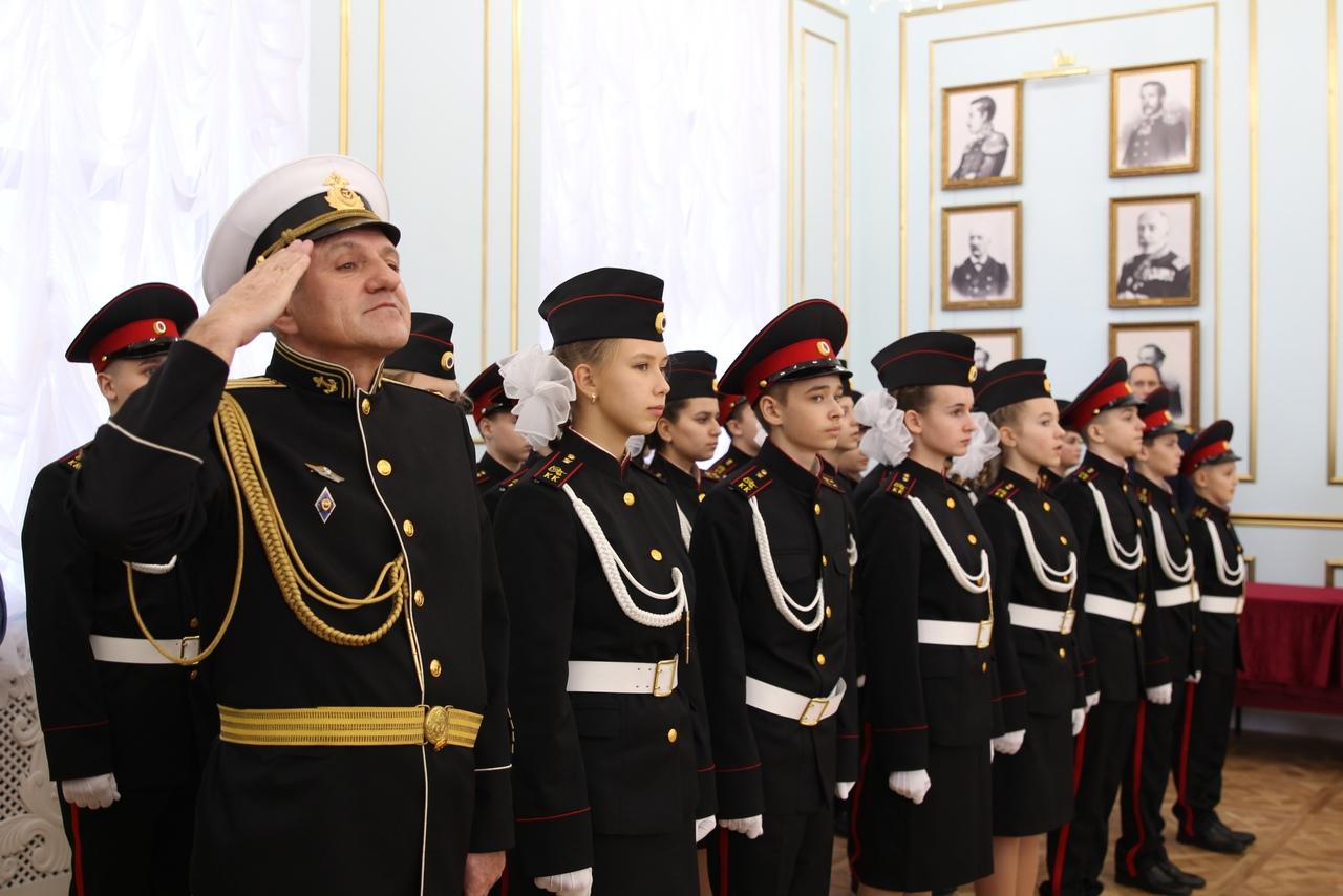 В Севастополе кадеты СК приняли торжественную клятву