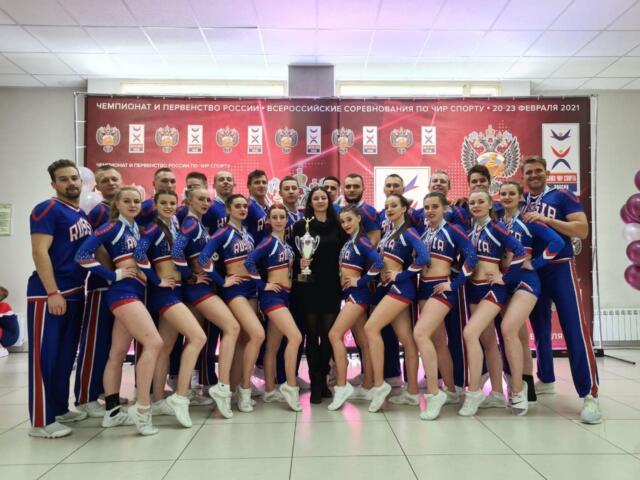 Чирлидеры из Крыма завоевали «серебро» на Чемпионате России