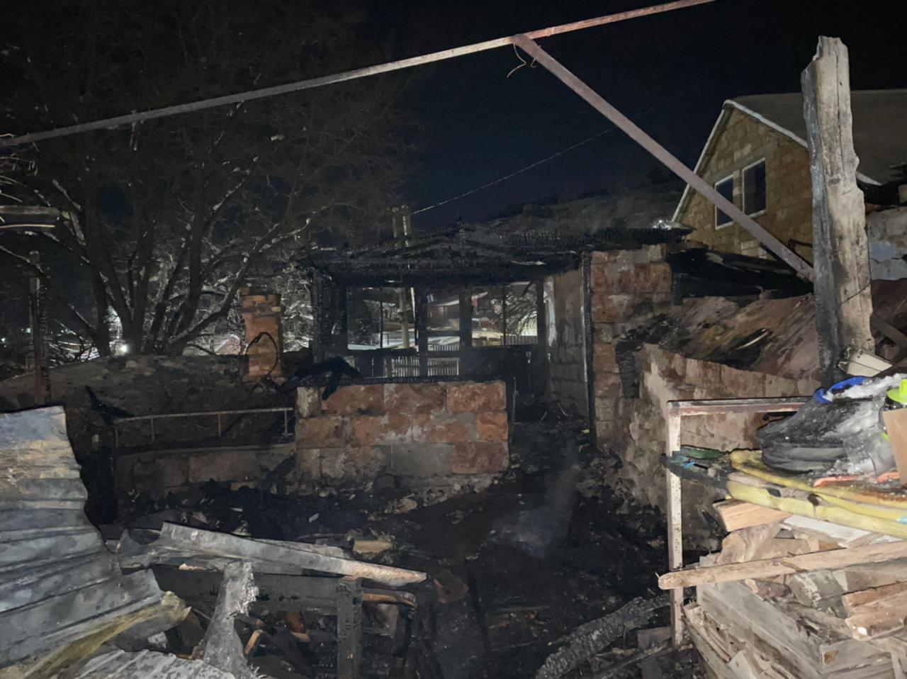 В Крыму на пожаре погиб девятимесячный ребенок