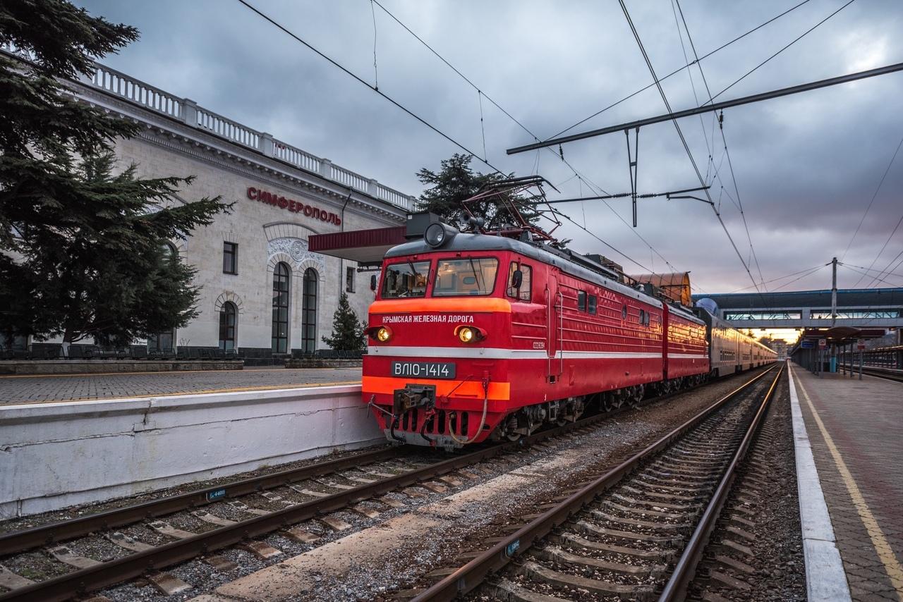 На майские праздники поезда в Крыму будут ходить по 10 маршрутам