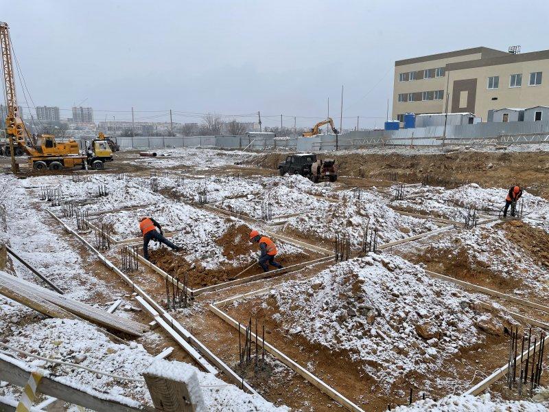 В Севастополе в бухте Казачья строят новый детский сад (фото)