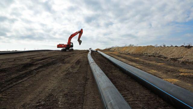 Аксенов запустил новый водовод для Симферополя