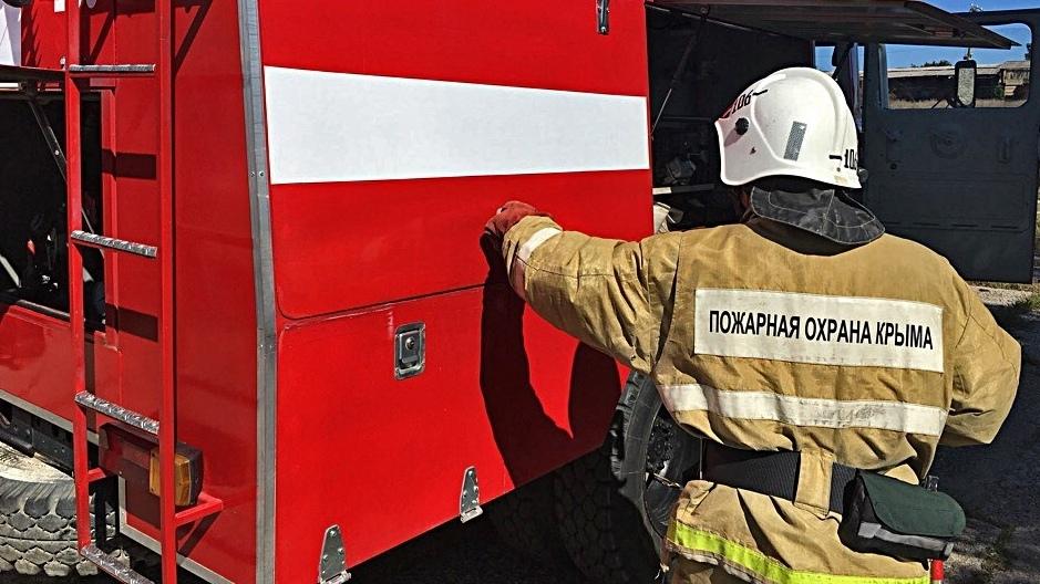 Спасатели обнаружили труп в сгоревшем доме в Крыму
