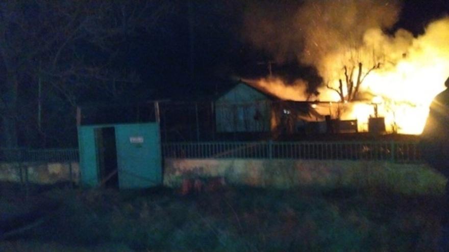 Взрыв газа произошел в крымском селе
