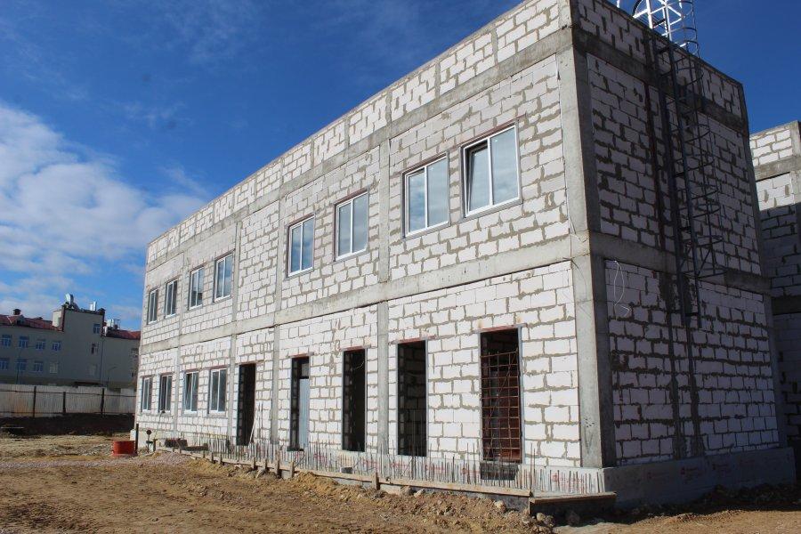 В Севастополе на улице Шевченко строят новый детский сад