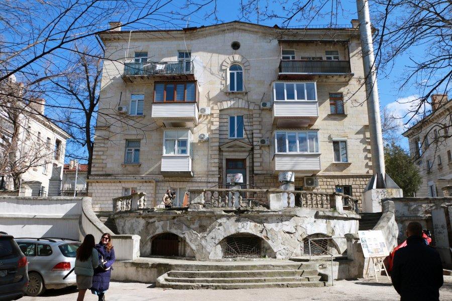 В Севастополе капитально отремонтируют дом на Большой Морской
