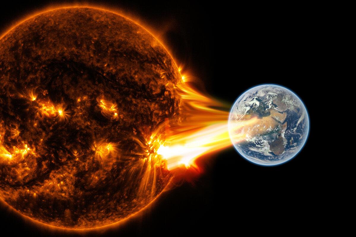 В первый день весны на Земле началась магнитная буря