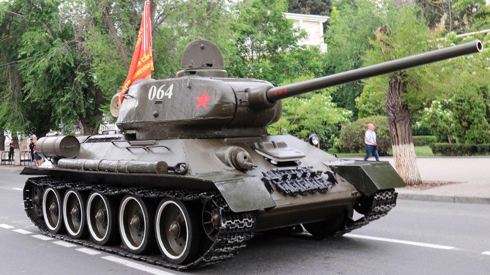 В Севастополе 9 мая парад Победы возглавит танк Т-34