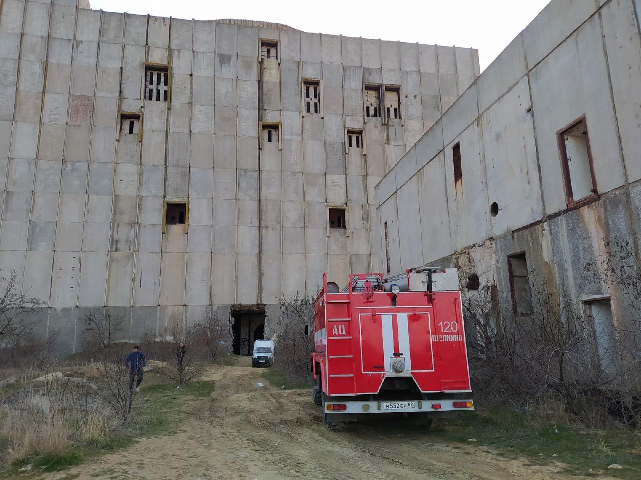 В реактор недостроенной Крымской АЭС упала девушка, она госпитализирована